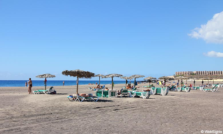 La Tejita strand