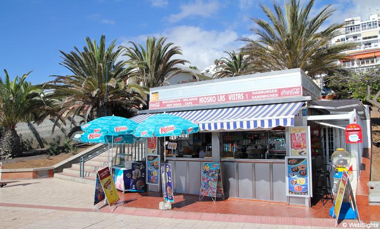 Las Vistas beach bar