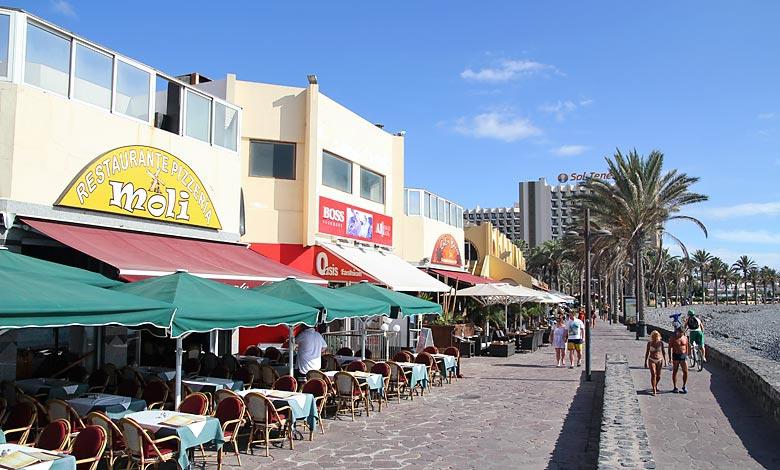 Playa de Las Americas restaurant