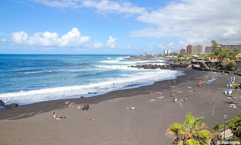 Playa Jardin beach